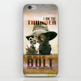 Thunderbolt Movie-I Am The Thunder iPhone Skin