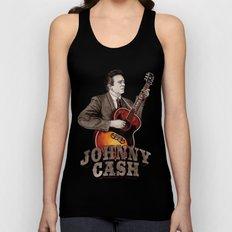 Johnny Cash Unisex Tank Top
