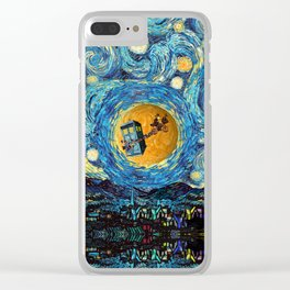 Doctor Who 4th at starrynight Clear iPhone Case