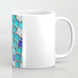 Blue Tiles - an abstract photograph. Coffee Mug