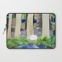 lost sheep Laptop Sleeve