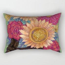Vibrant Frida Rectangular Pillow