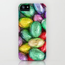 Easter Eggs II iPhone Case