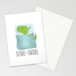 Dino-Snore Stationery Cards