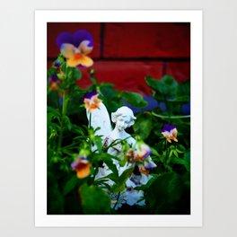 Floral Fae Art Print