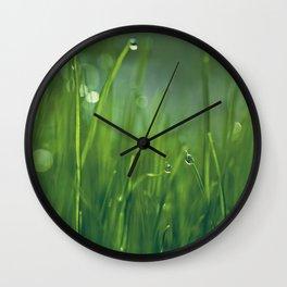 morning conversation Wall Clock
