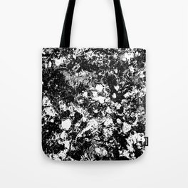 Bad Memories - black and white abstract painting Tote Bag