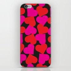 queen of hearts II iPhone & iPod Skin
