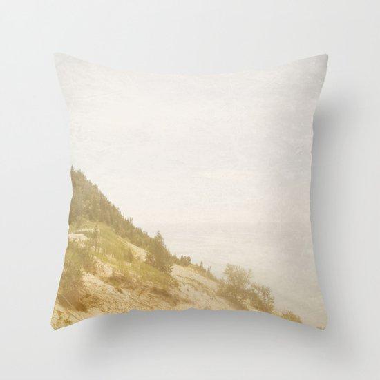 The Mountain Climb Throw Pillow