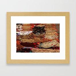 Idian Mala Neklace store Framed Art Print