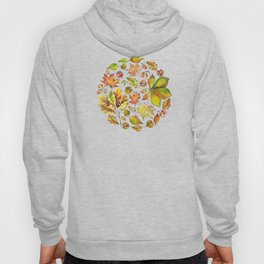 Autumn forest composition Hoody