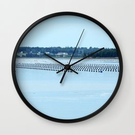 Growing Food with Tides Wall Clock