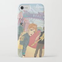 paramore iPhone & iPod Cases featuring Paramore - Welcome to Real World by Zinenkoij