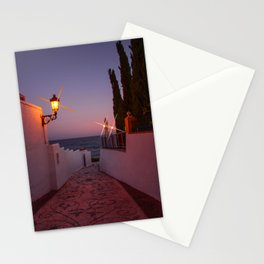 Pathway to the Sea - Sunset image Stationery Cards