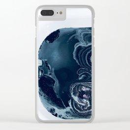Black Bath Clear iPhone Case