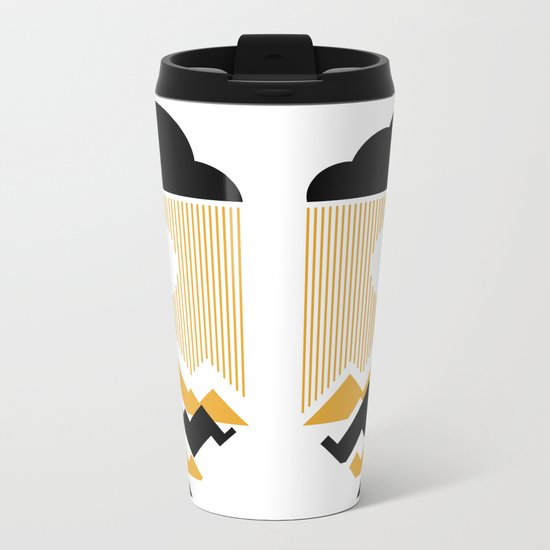 The Day The Sun Disappears Metal Travel Mug