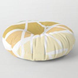 Desert color landscape Floor Pillow