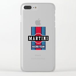 Martini Racing Team Clear iPhone Case
