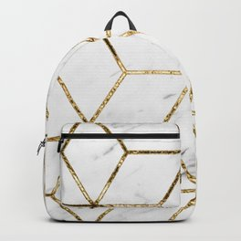 Gatsby golden marble Backpack
