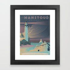 The Manitou Passage Framed Art Print