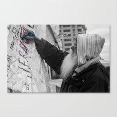 Occupy Truth, He said Canvas Print