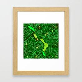 Infinite City - Spring Framed Art Print