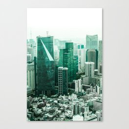 The Emerald City Canvas Print