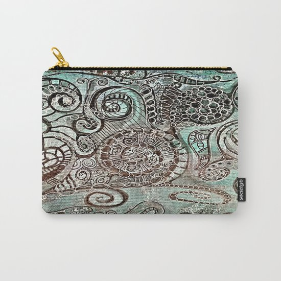 Journal Swirl Carry-All Pouch