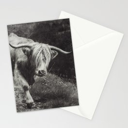 Scottish Highland Cow - Highlander Stationery Cards