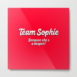 Team Sophie Metal Print