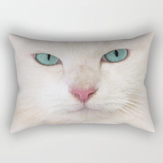 WHITE DELIGHT Rectangular Pillow