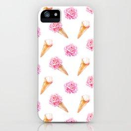 Floral Cones iPhone Case