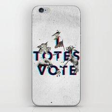 I Totes Vote iPhone & iPod Skin