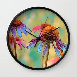 Dancing in the Sun Wall Clock