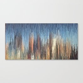 The Cities Canvas Print