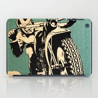 motorcycle iPad Cases featuring Motorcycle Race by Fernando Vieira