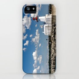 To the Light Source iPhone Case