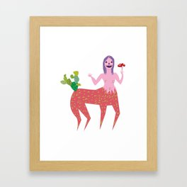 Jaki Framed Art Print
