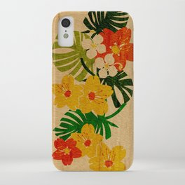 Limahuli Garden Hawaiian Floral Design iPhone Case