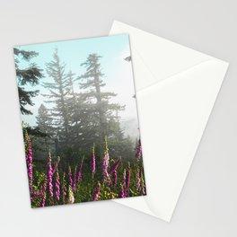 Misty Mountain Wildflowers Stationery Cards