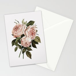 Three English Roses Stationery Cards