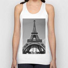 Tower Eiffel En Noir Unisex Tank Top