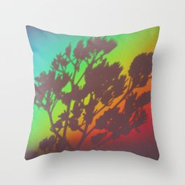 Rainbow's End Throw Pillow