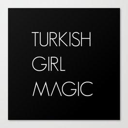 Turkish Girl Magic Turkish Woman Girl Canvas Print