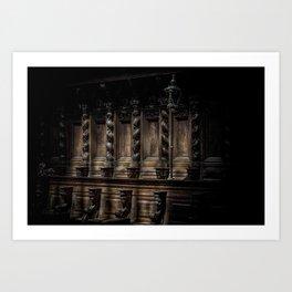 The Holy Light Art Print