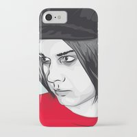 jack white iPhone & iPod Cases featuring JACK WHITE by Nuk_