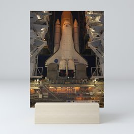 661. Space Shuttle Atlantis Mini Art Print