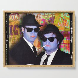 Blues Brothers Gold Serving Tray