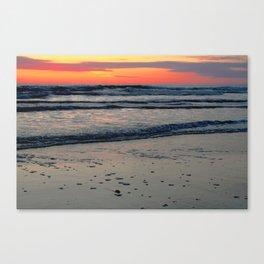 Flagler Beach Sunset Canvas Print