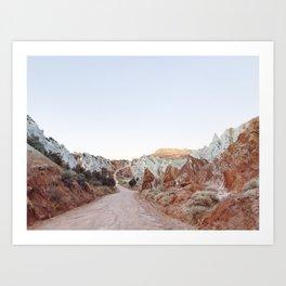 Winding Cottonwood Canyon Road Art Print